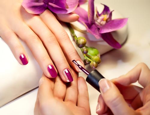 Дизайн ногтей для рекламы